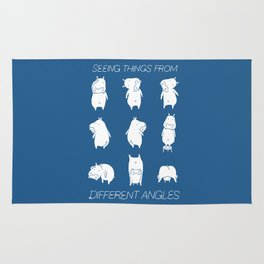Seeing things from different angles Rug