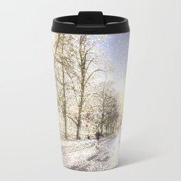 Greenwich Park London Snow Art Travel Mug