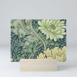 William Morris - Wallpaper Sample With Chrysanthemum Mini Art Print