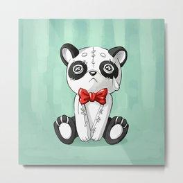 Panda Doll Metal Print