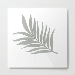 Light Tropical Foliage Metal Print