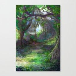 Elven Forest Canvas Print