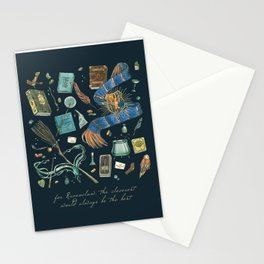 The cleverest House Stationery Cards