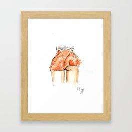 Femme 12 Framed Art Print