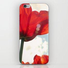Flower Photography, Deep Ruby Red Art Print, Autumn, Home Decor Nursery Decor  Nature 8x10 iPhone Skin
