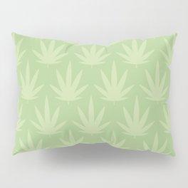 Cannabis Leaf Pillow Sham