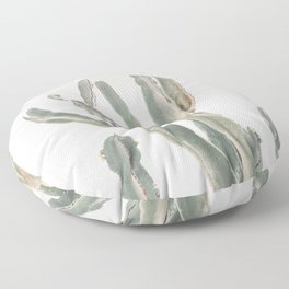 Sunrise Cactus Floor Pillow