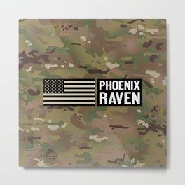 Phoenix Raven Metal Print