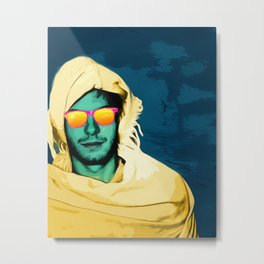 Berbere pop art Metal Print