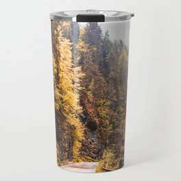 Autumn Mountain Road Travel Mug