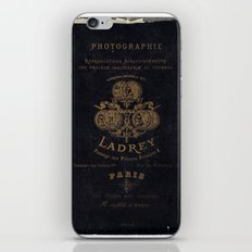 Vintage photo card 1 iPhone & iPod Skin