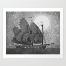 Night Odyssey  Art Print