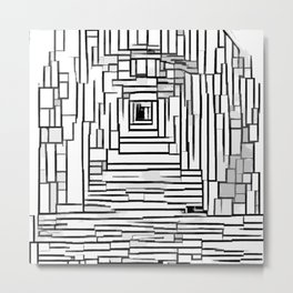 Tunel Metal Print