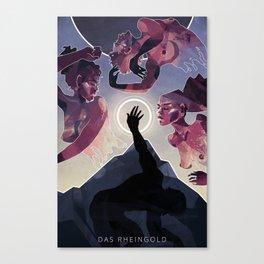 Das Rheingold Canvas Print