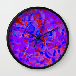 a bit of city life Wall Clock