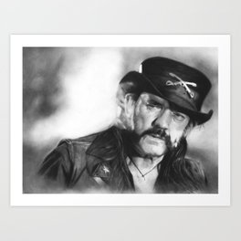 Lemmy Kilminster Art Print