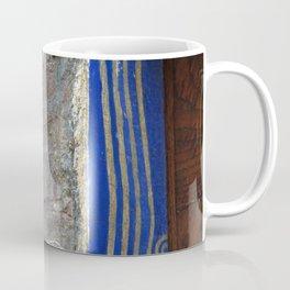 13 - Blue Starry Night Door Coffee Mug