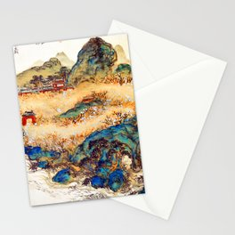 Tomioka Tessai Mountain of Immortals Stationery Cards