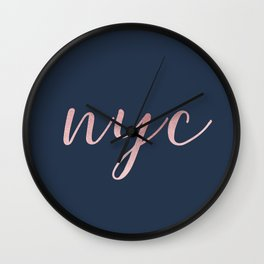 nyc shine Wall Clock