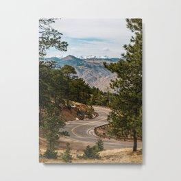 Rocky Mountain Road Trip Metal Print