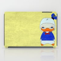 donald duck iPad Cases featuring A Boy - Donald Duck by Christophe Chiozzi