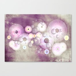 Phantasie in lila - Fantasy in purple Canvas Print