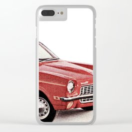 1970's Chevy Vega Clear iPhone Case