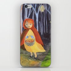 Little red-riding hood iPhone & iPod Skin