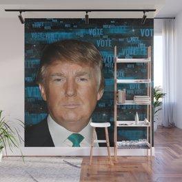 Vote Donald Trump 2016 Wall Mural