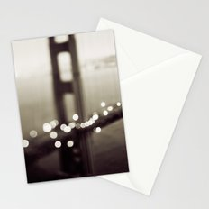 Meet Me In San Francisco (Black and White Edition)  Stationery Cards