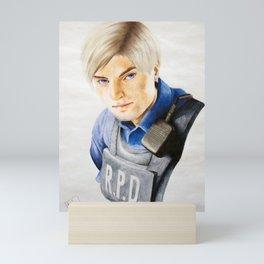 Leon Kennedy (Resident Evil 2 Remake) Mini Art Print
