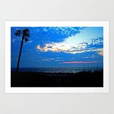 Sunrise on Fripp Island Art Print
