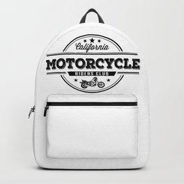 California Motorcycle Riders Club Backpack