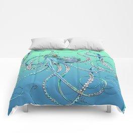 Drunk Octopus Comforters