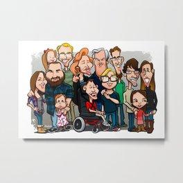 Strenge Family Metal Print
