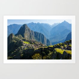 Machu Picchu Part 2 Art Print