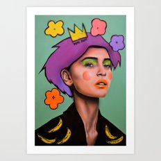 F*CK fame Art Print