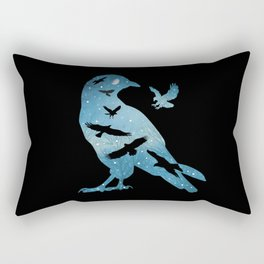 The Night Of The Crows Rectangular Pillow