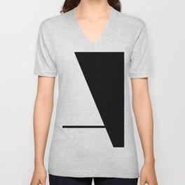 More than Shape  / Capital Letter A Unisex V-Neck