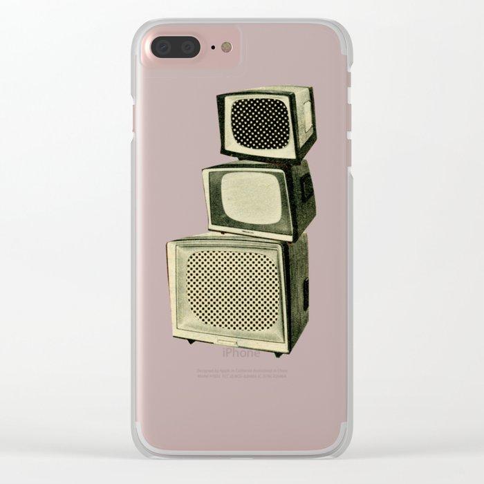 Multi Screen Cinema Clear iPhone Case