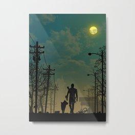 Fallout | Warriors Landscapes Serries Metal Print