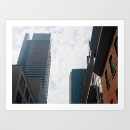 Downtown Toronto Art Print