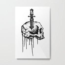 Unknown Pleasure Metal Print
