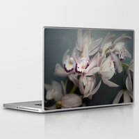 orchid Laptop & iPad Skins featuring Orchid by Pure Nature Photos