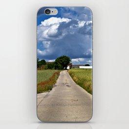 Summer Field Poetry iPhone Skin