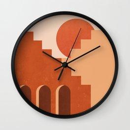 Abstraction_SUN_Architecture_ART_Minimalism_001 Wall Clock