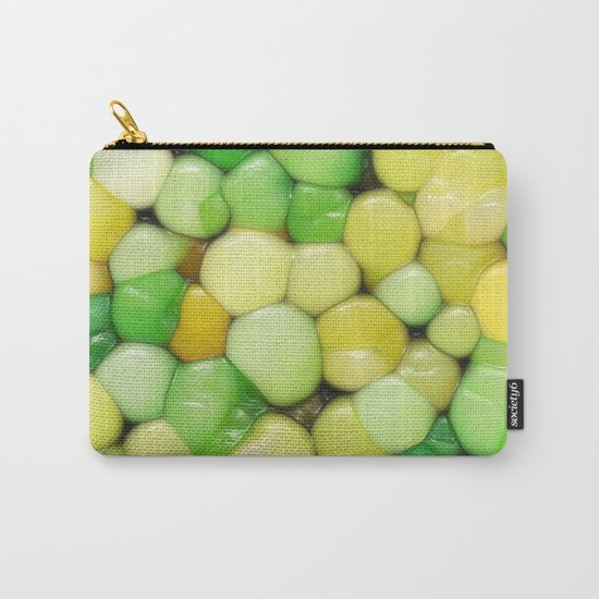 Lemon Lime Abstract Carry-All Pouch