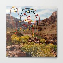 Grand Canyon Roller Coaster Metal Print