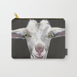 Patsy Goat Art Carry-All Pouch