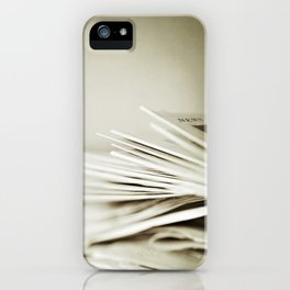 Yesterday's News iPhone Case